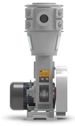 WLW无油立式真空泵参数结构与工作原理